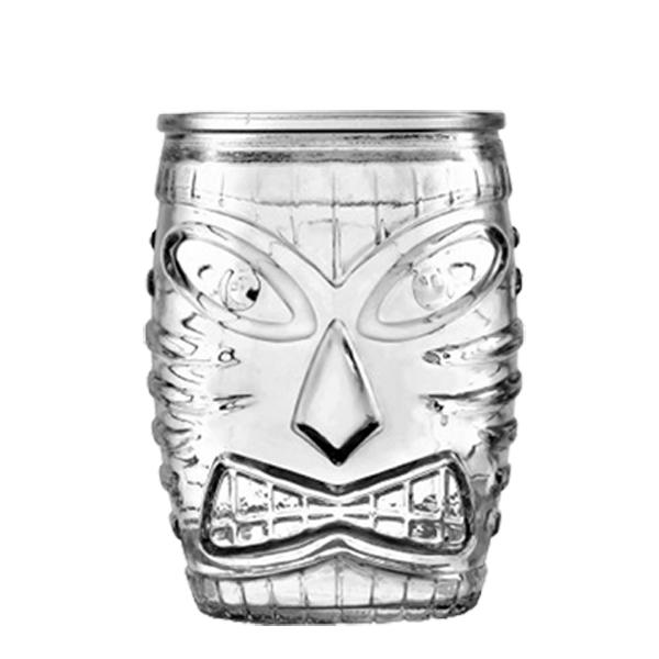Cristal Tiki mug bajo